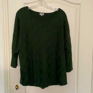 Green Avenue Sweater - 18/20